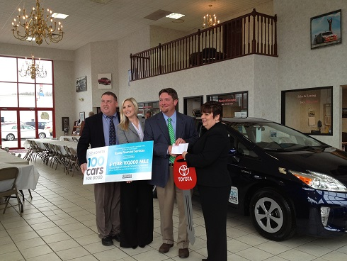 Amazing AASC Was Able To Travel To Princeton, WV On February 25 And Accept The New  Prius From Toyota Representatives As Well As Ramey Toyota.